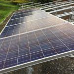 DIY太陽光増設 パネル設置