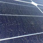 太陽光パネルの汚れ