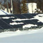太陽光パネルが雪の重みで破損する原因