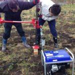 太陽光発電の基礎 地質調査 引き抜き検査
