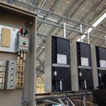 太陽光発電設備工事 パワコンの設置