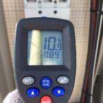 端子盤の温度測定